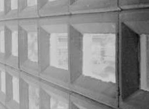 Glazed Cinder Blocks : Frank lloyd wright