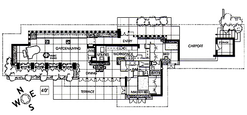333 FloorPlan frank lloyd wright,Small Frank Lloyd Wright House Plans