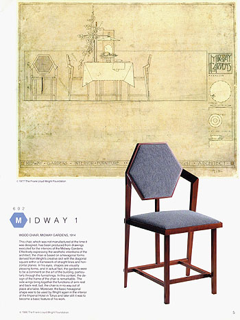 Astounding Frank Lloyd Wright Theyellowbook Wood Chair Design Ideas Theyellowbookinfo