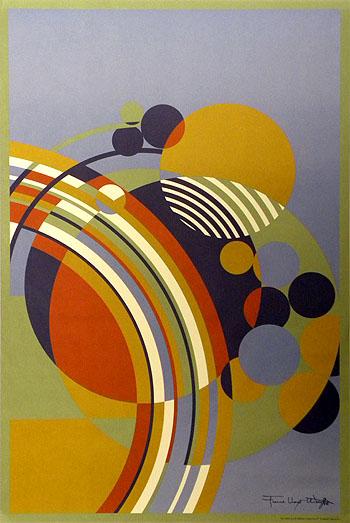 Date: Circa 1997. Title: Frank Lloyd Wright ...