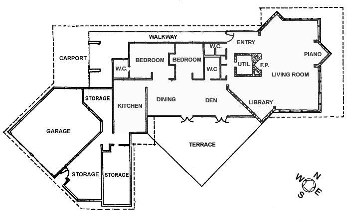 taliesin east floor plan www imgarcade com online