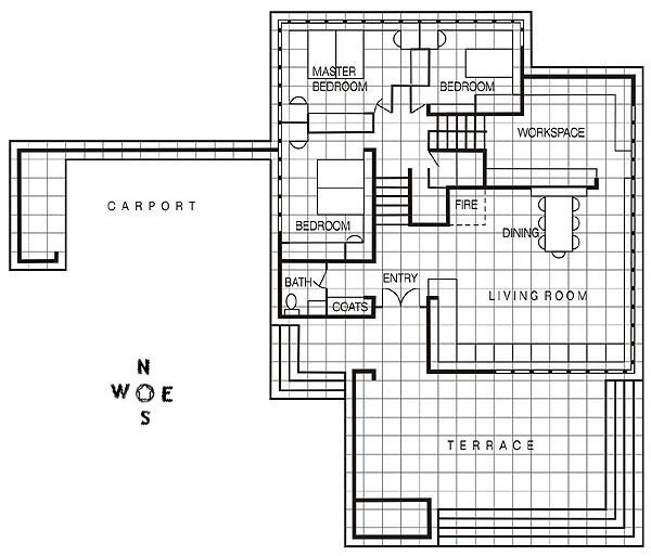 Mr and mrs smith house floor plan - House and home design