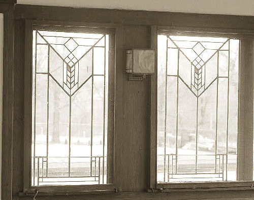 Frank lloyd wright for Andersen windows art glass