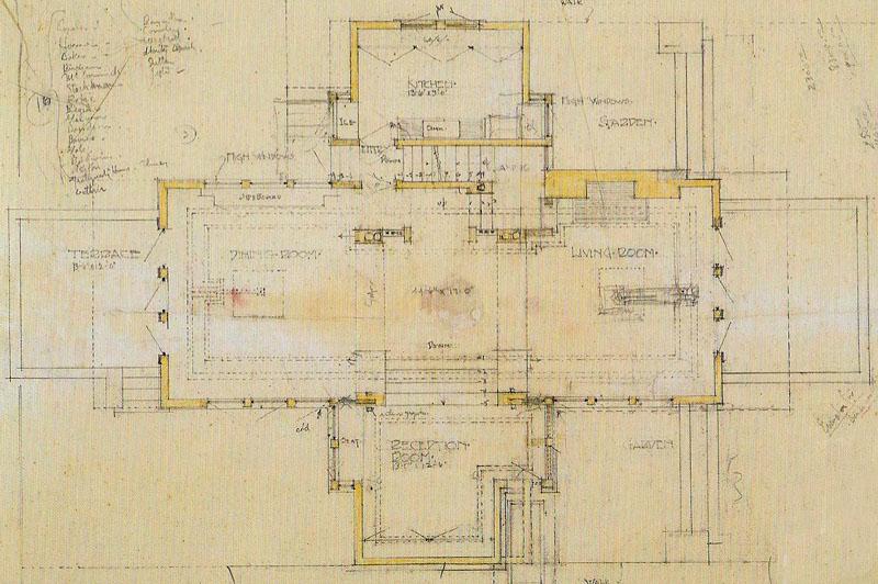 frank lloyd wright studio 54 floor plan free home design ideas images