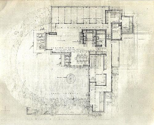 Frank Lloyd Wright – Pope Leighey House Floor Plan
