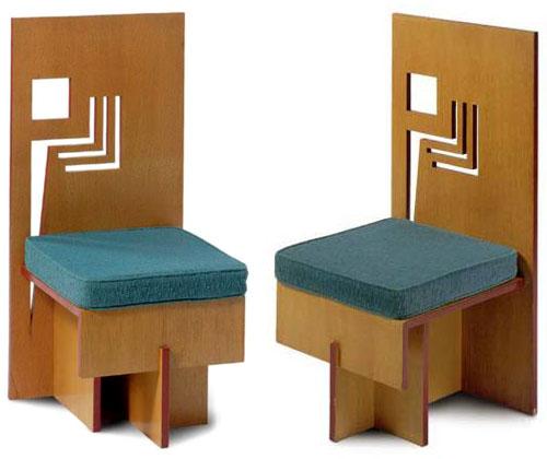 Frank Lloyd Wright : NYUHChair1953 2 from www.steinerag.com size 500 x 420 jpeg 48kB