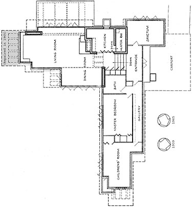 Pope2-1964FloorPlan-3 Steiner House Floor Plan on johnson house plans, oliver house plans, martin house plans, fisher house plans, chrysler building plans,