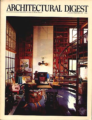 Date: January February 1976. Publication: Architectural Digest