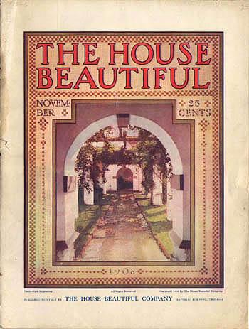 The House Beautiful frank lloyd wright