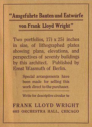 frank lloyd wright chicago